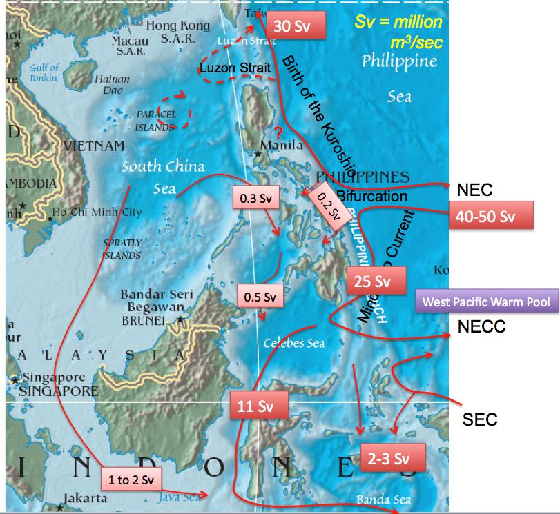 Map Of Asia Seas.Ocp Southeast Asian Archipelago